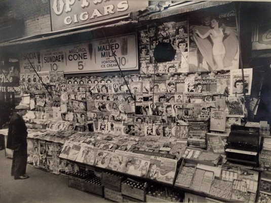 Newsstand East 32nd Street & Third Avenue, Manhattan, November 19, 1935