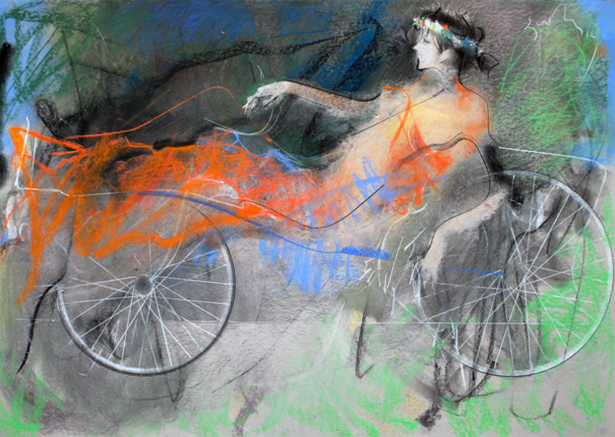 Bicycle  2011 27x39