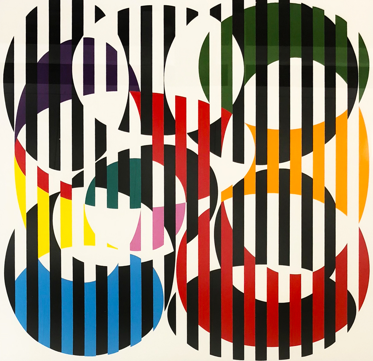 End to End 1971 by Yaacov Agam