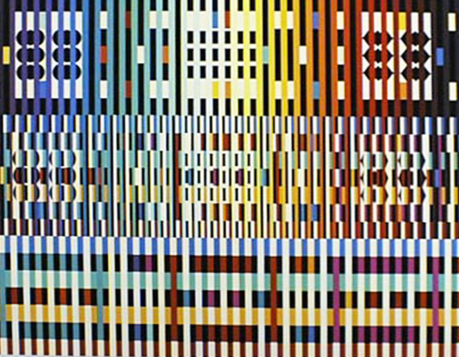 Blessing 1988 by Yaacov Agam