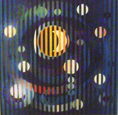 Sun and Moon Romance on canvas 2007