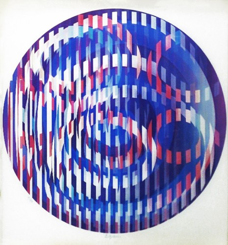Infinite Rainbow 1981 by Yaacov Agam