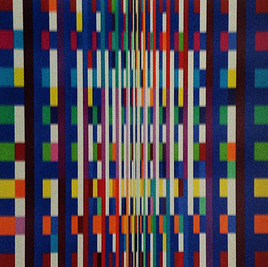 Big Bang 2007 by Yaacov Agam