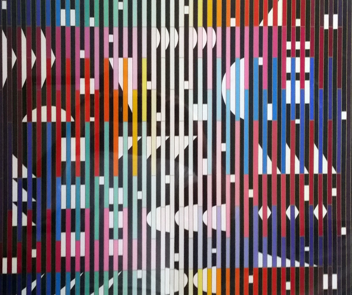 Anti Composition Paris 1982 by Yaacov Agam