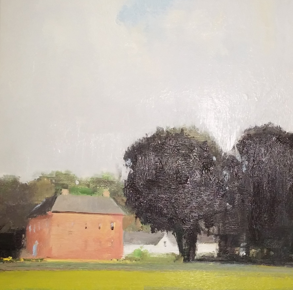 Enniscoe House, Black Trees 2001 25x25