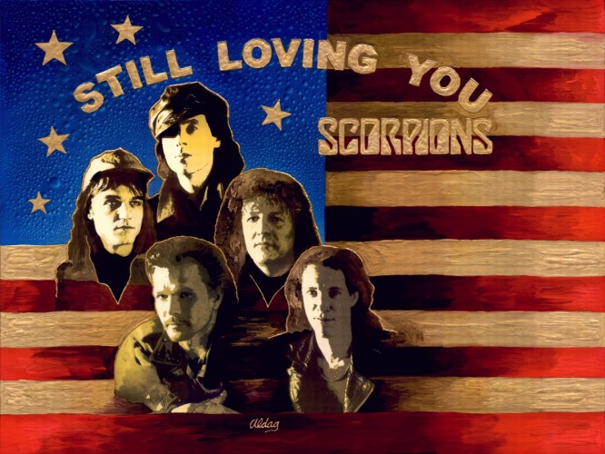 Still Loving You (Scorpions) 36x48