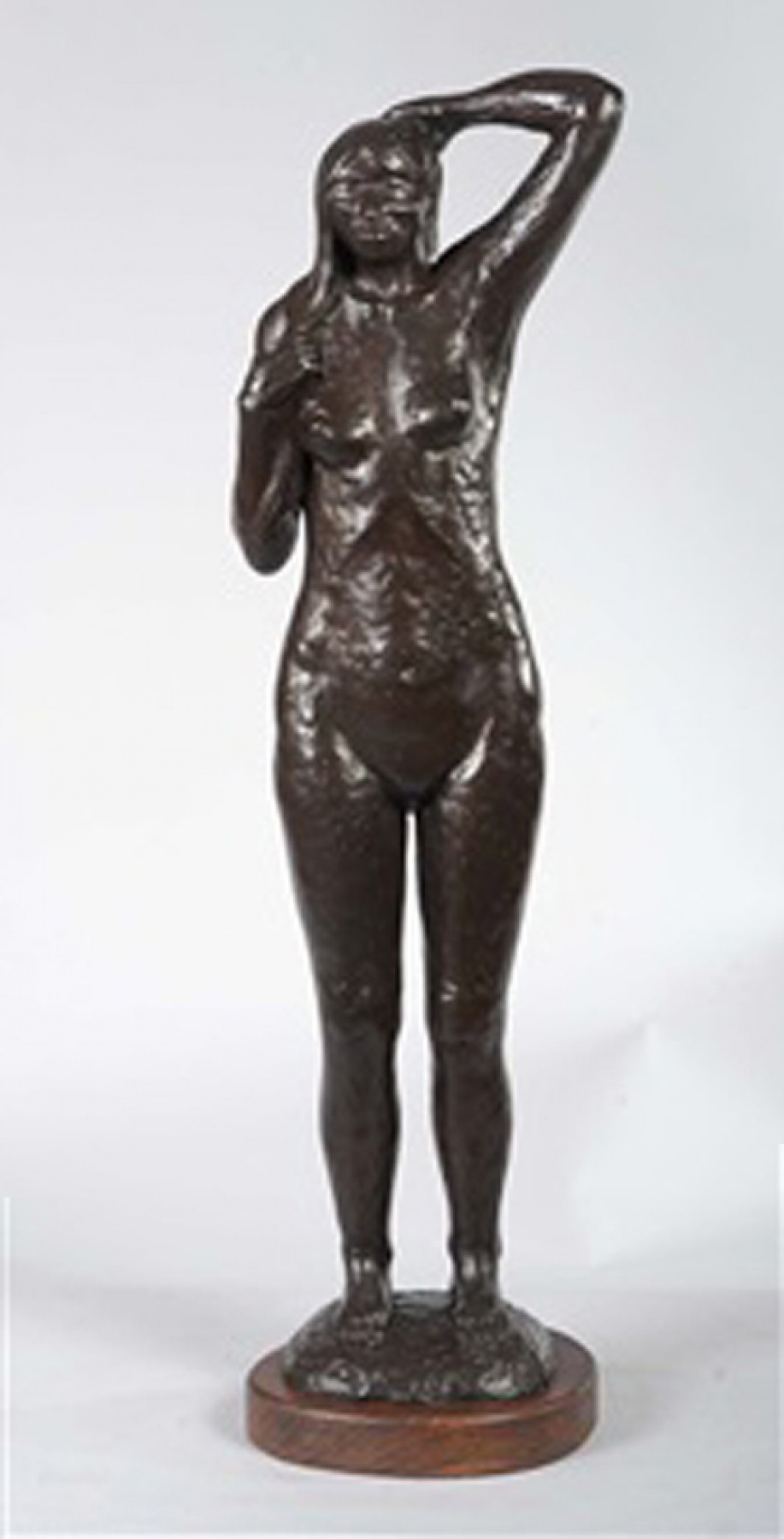 Spring Morning Bronze Sculpture 1981 33 in