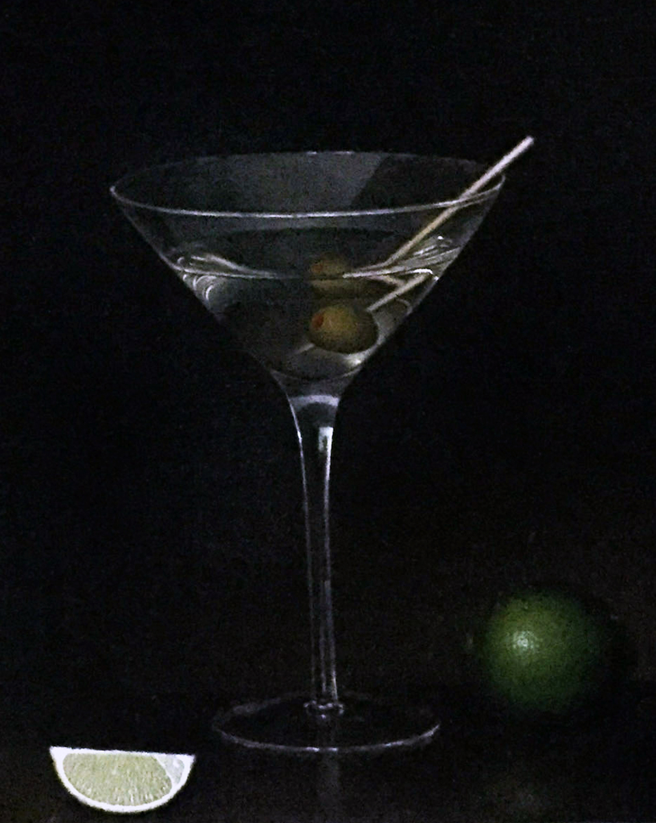 Martini with Lime 2012 24x26