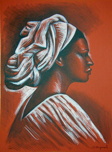Woman with Turban 1981