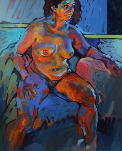 Nude in Natural And Artificial Light 2012 40x32