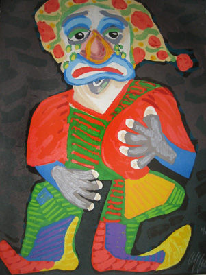 Il Pagliacci (From The Metropolitan Opera II Suite) 1984 by Karel Appel