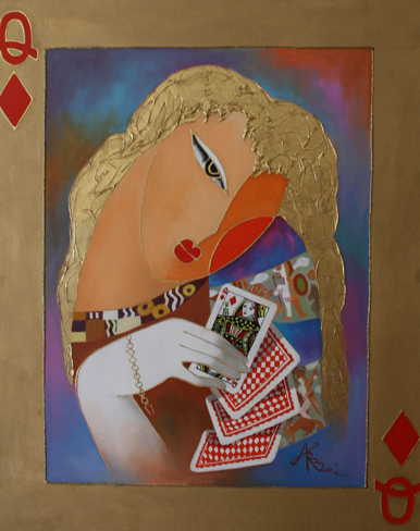 Nordic Queen of Diamonds