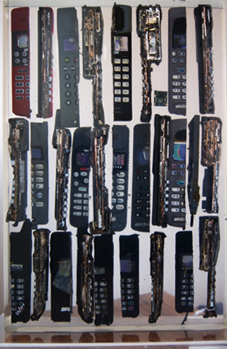 Untitled Cell Phone Sculpture 2005