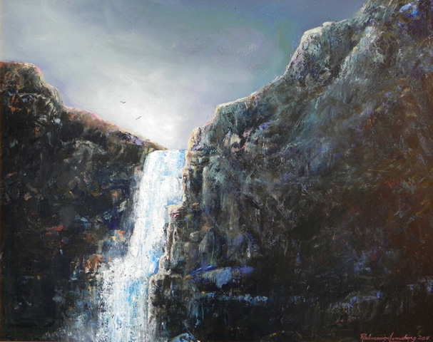 Falls Over Pemberton 2012 22x26