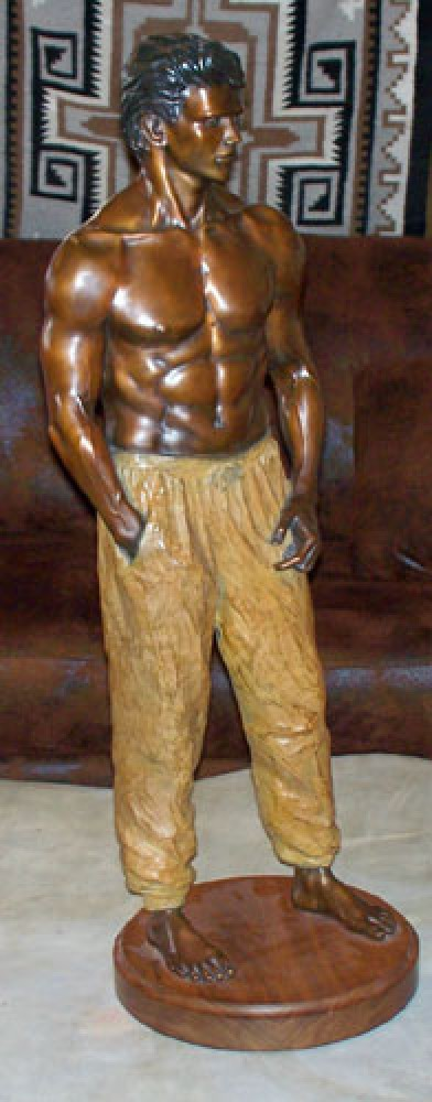 Doug Bronze Sculpture