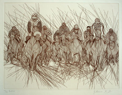 Derby Suite of 5 Etchings 1983