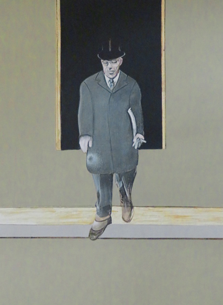 Woodrow Wilson, Paris, 1919, From Triptych (1986-1987) by Francis Bacon