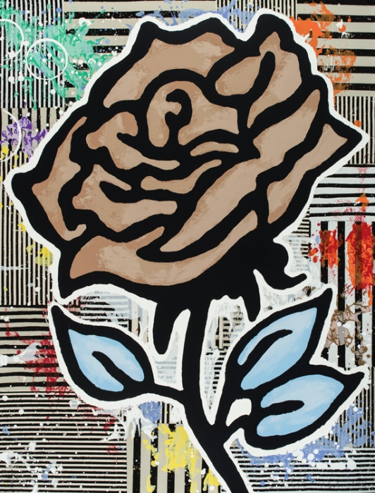 Six Roses, from  Suite of 6 2015 (New Release)
