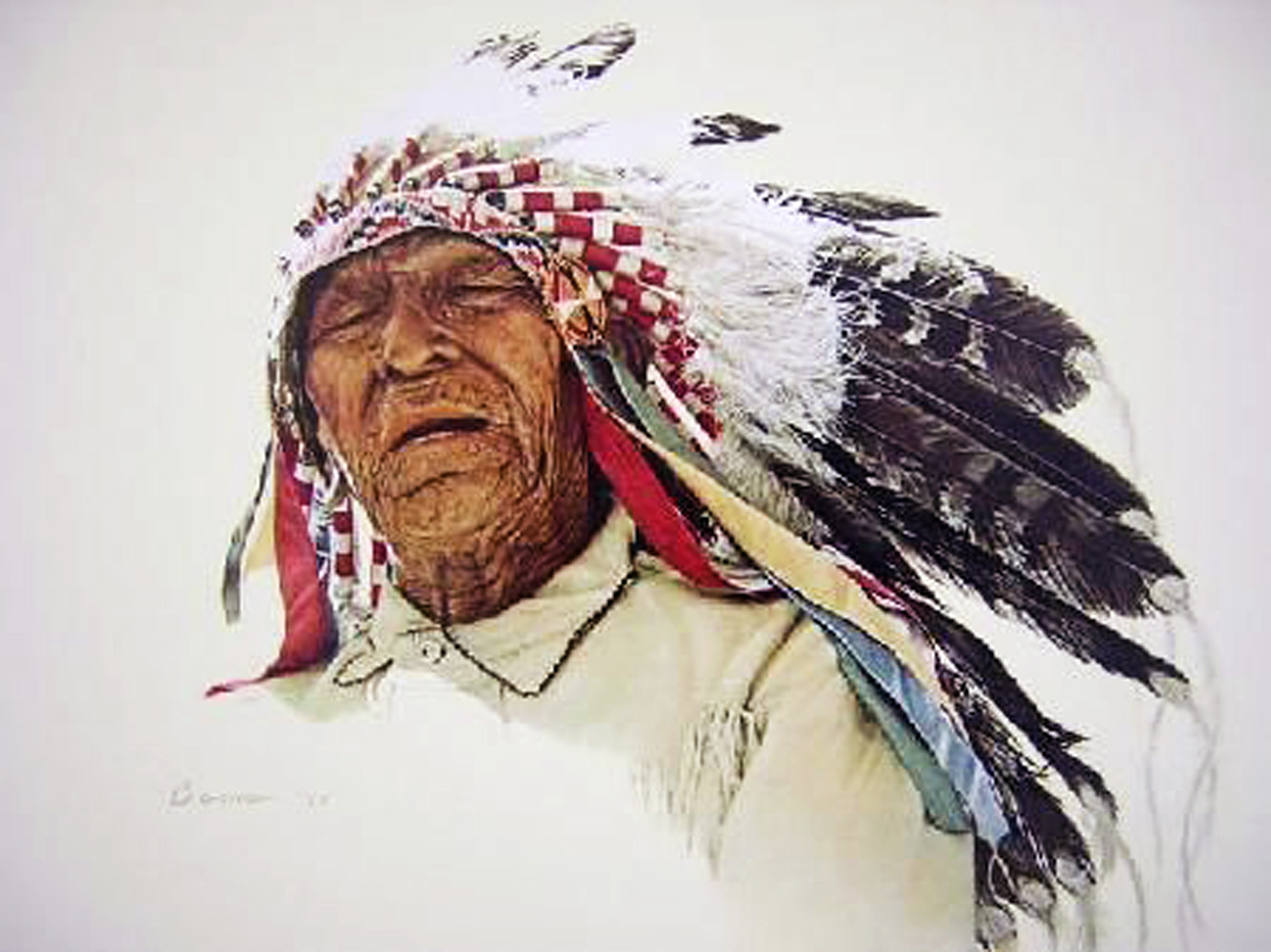 A Crow Indian 1977