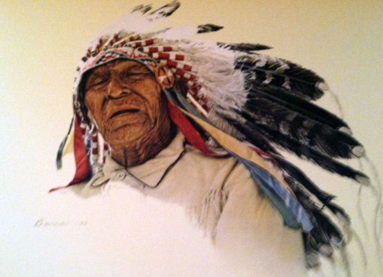 A Crow Indian Bama 1977