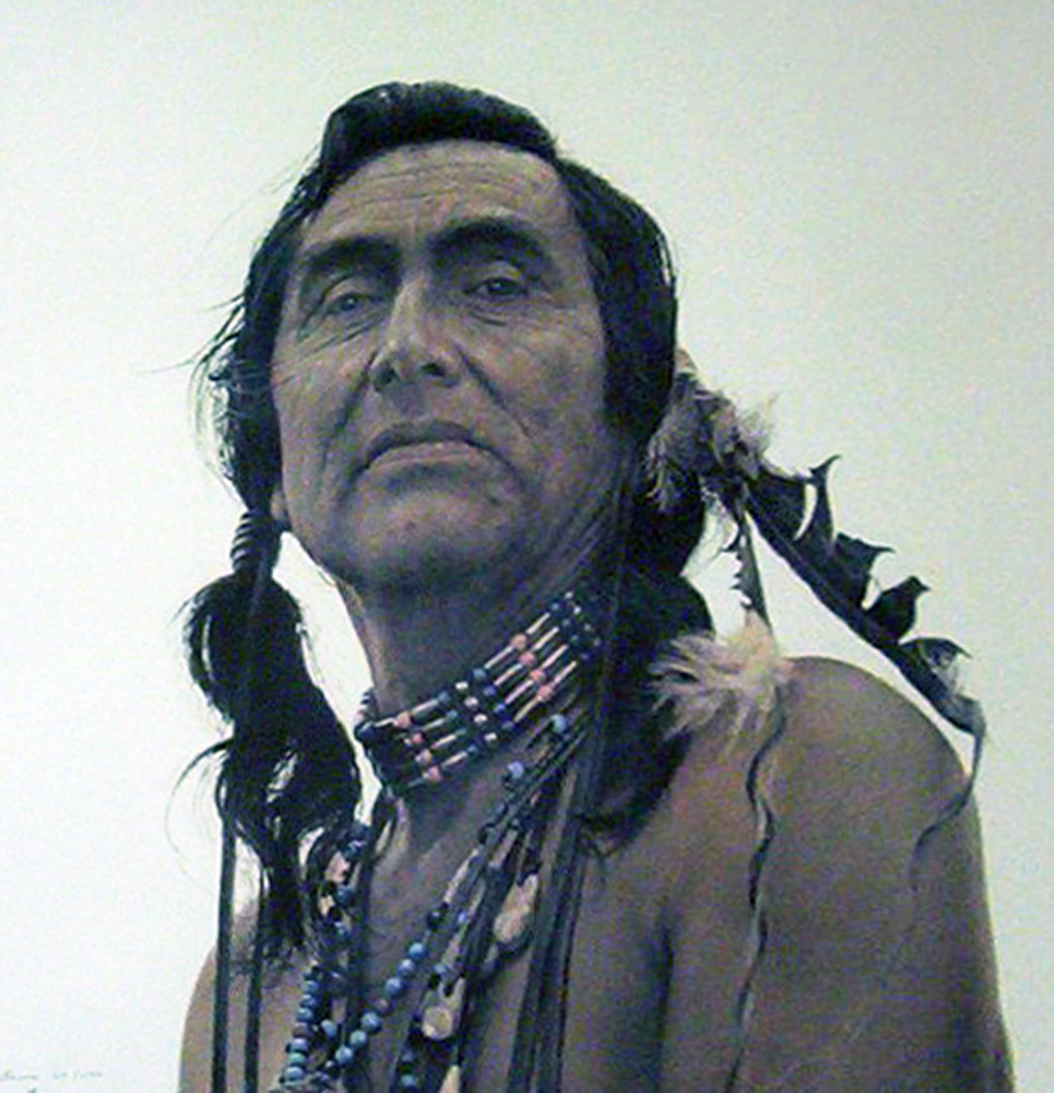 Portrait of a Sioux 1989