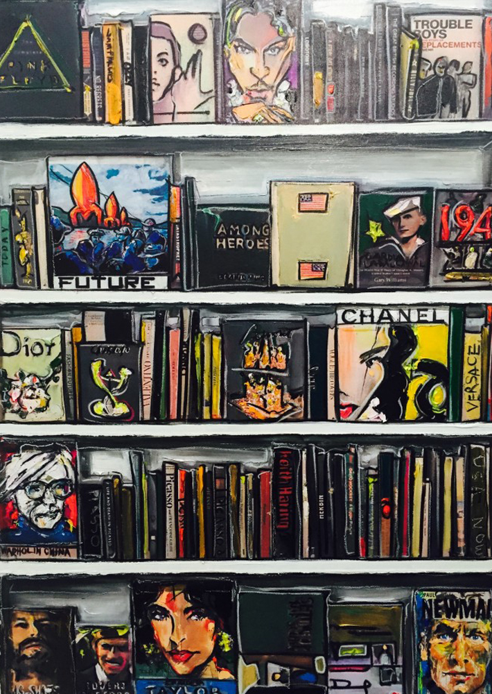 Banegas Book Shelves 2016 43x53