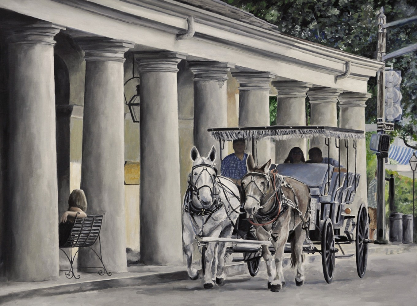 New Orleans Horse And Buggy 2013 18x24