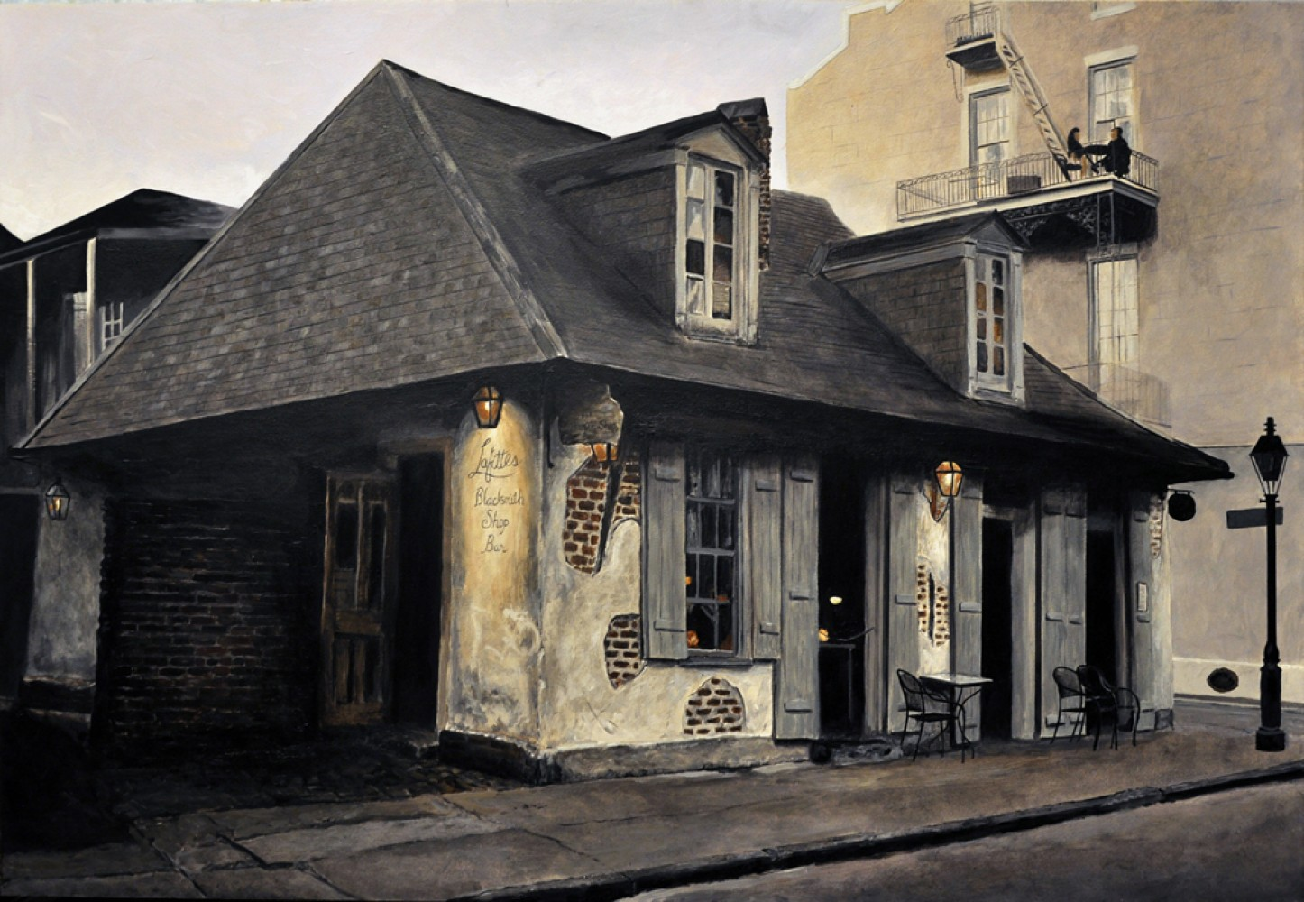 Lafitte's Blacksmith Shop - New Orleans 2013 18x26