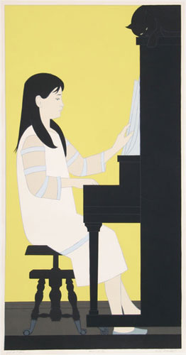 Girl at Piano 1973