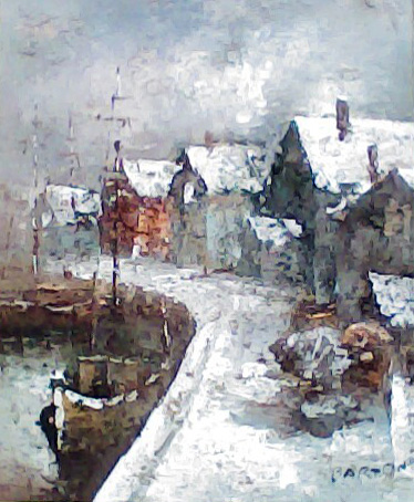 Untitled Winter Scene 20x16