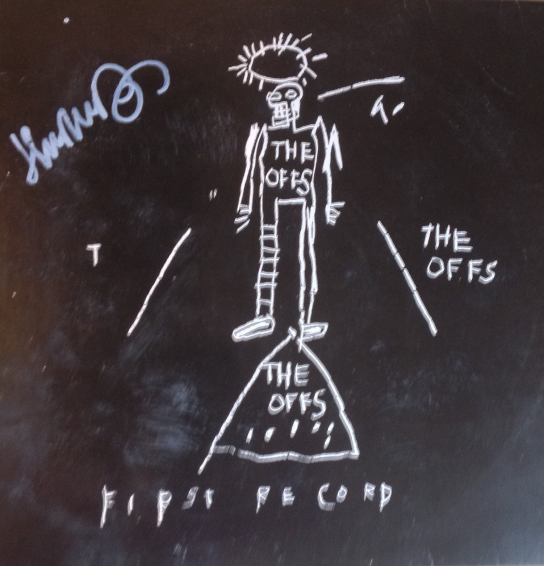The Offs First Record 1985