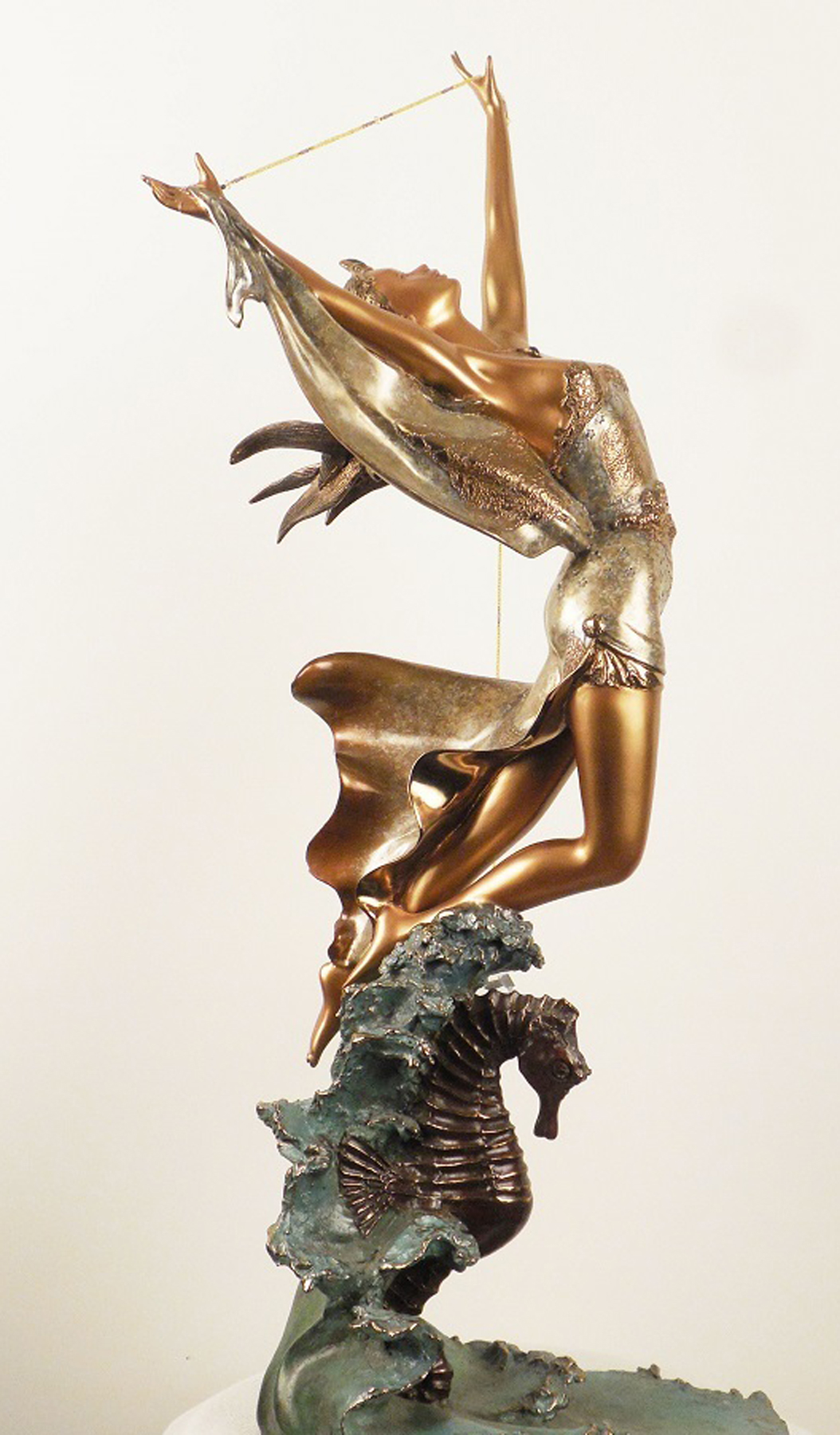Galatea Bronze Sculpture 1998 28 in