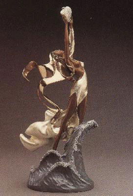 Polena  Bronze Sculpture 21 in