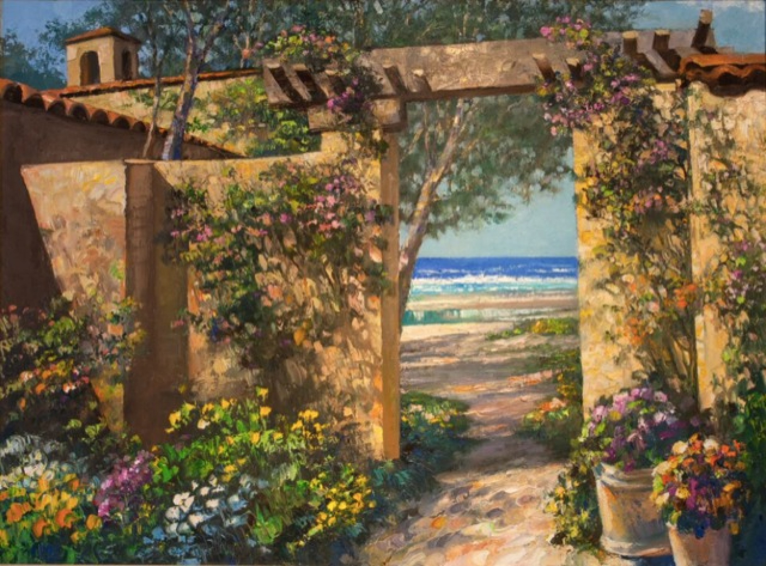 Casa By the Sea 2001 47x36