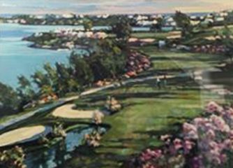 18th Fairway At Castle Harbor 1991