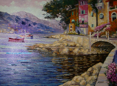 Antibes Remembered (France) Embellished