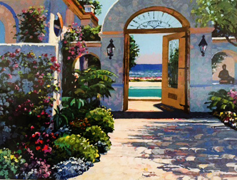 Hotel California 1995 by Howard Behrens