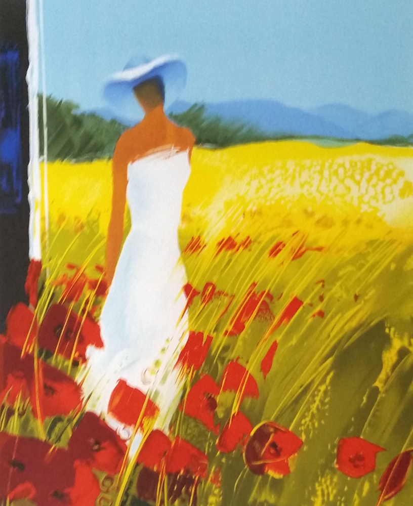 In the Poppy Field Embellished