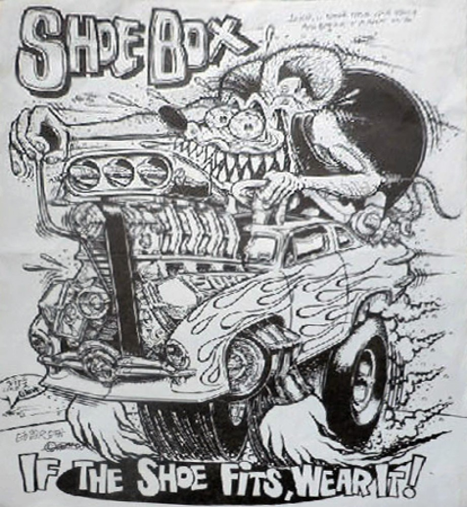 Shoebox, If the Shoe Fits Wear It Unique1993