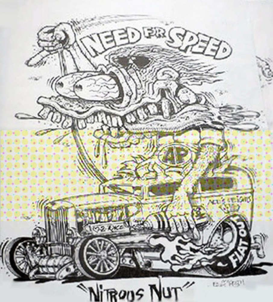 Bundle of 4 Prints Various Titles annotated by Ed Big Daddy Roth