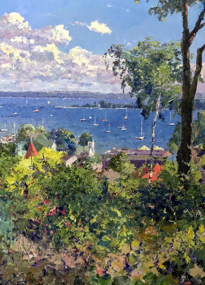 Harbor At Harbor Springs 1992 40x30