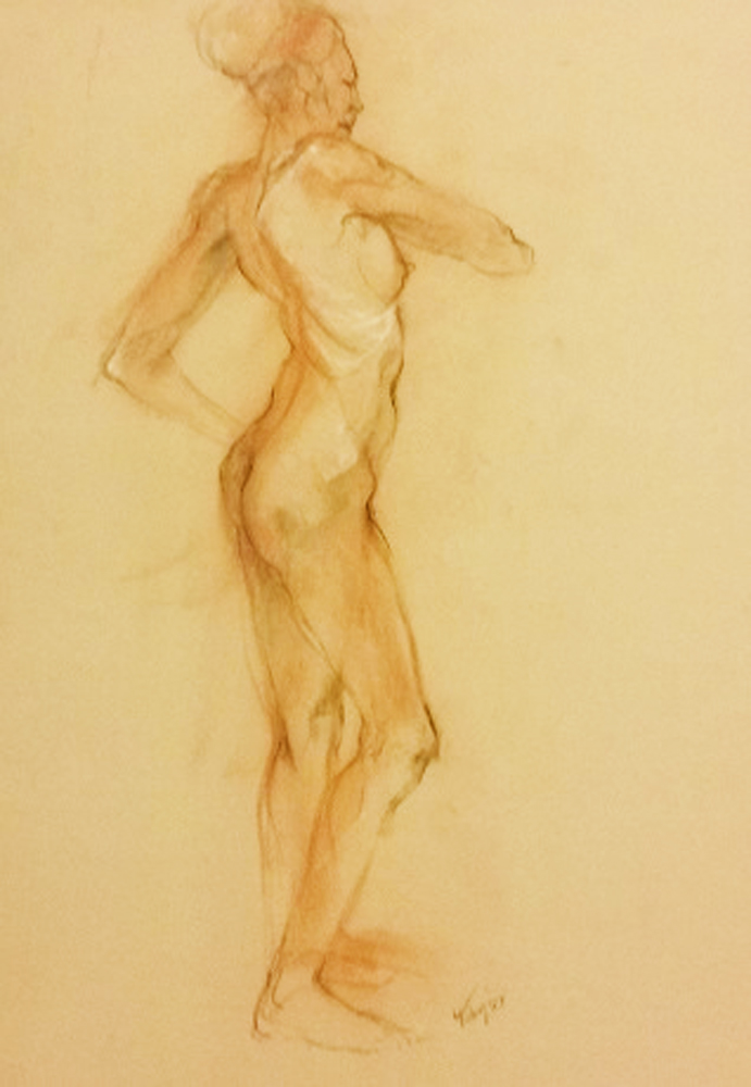 Nude 3, Double-Sided 1987 25x19