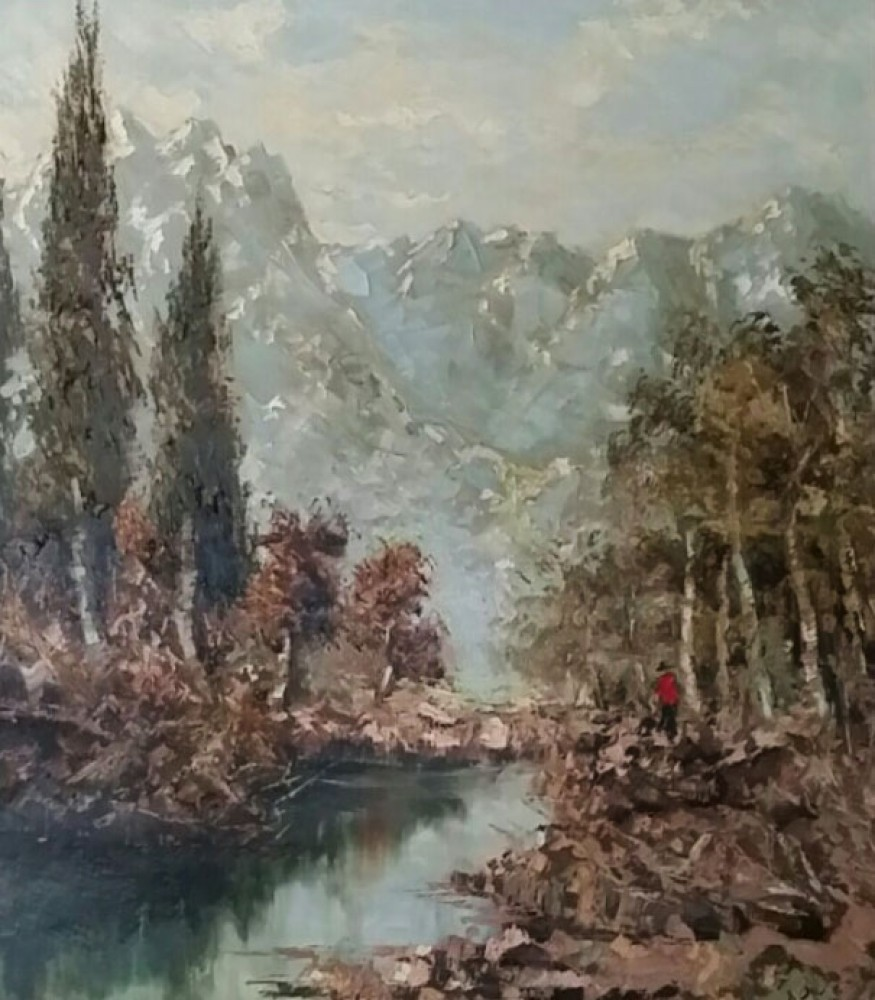 Untitled Landscape 40x35