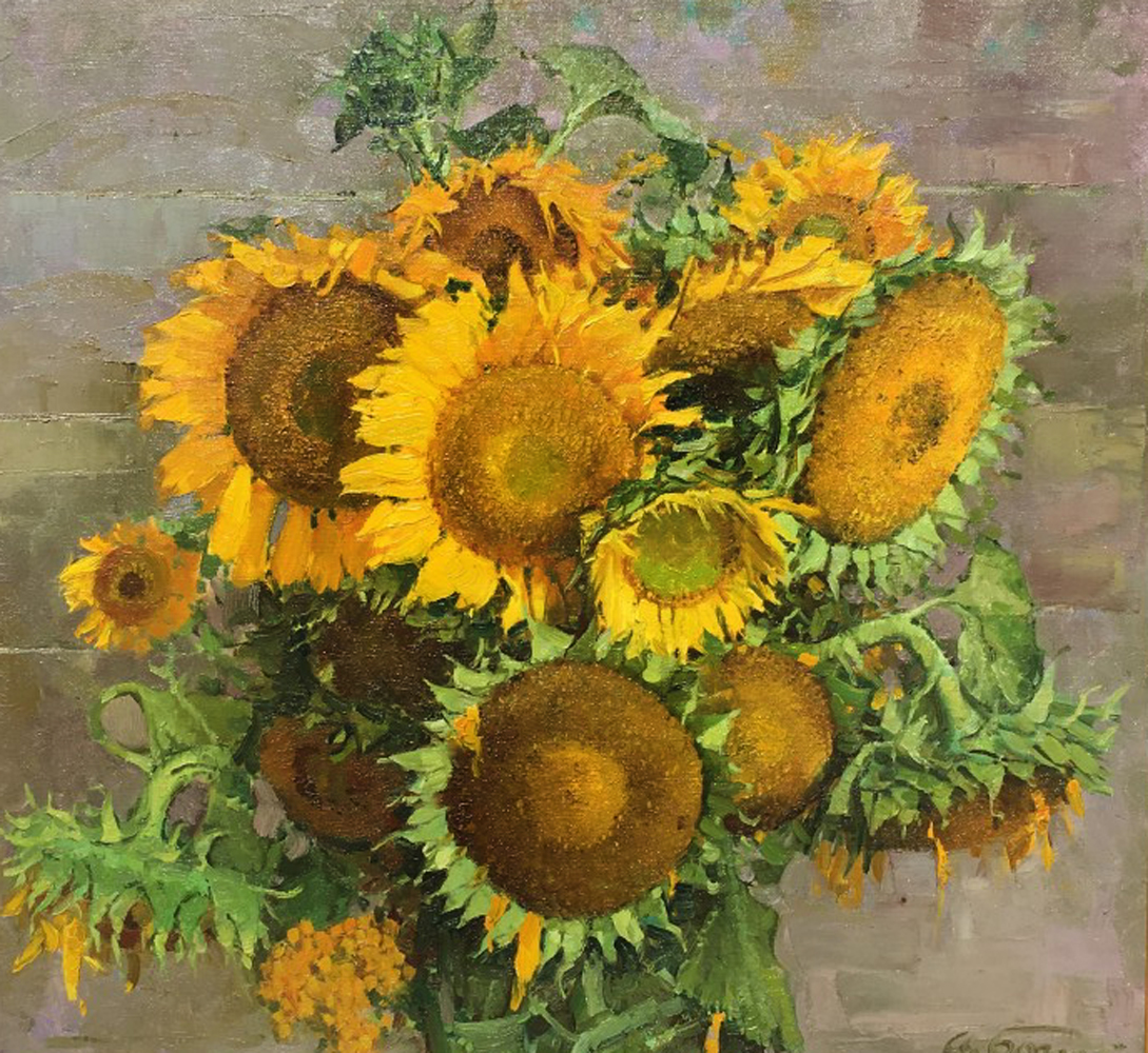 Sunflowers 1999 27x29