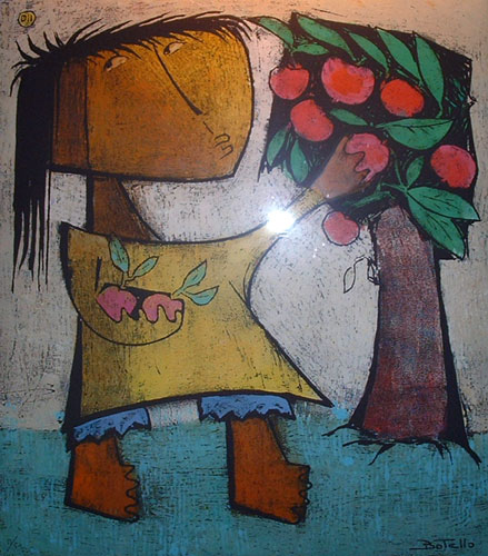 Angel botello art for sale for Angel paintings for sale