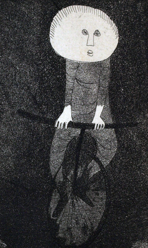 Untitled Lithograph 1991