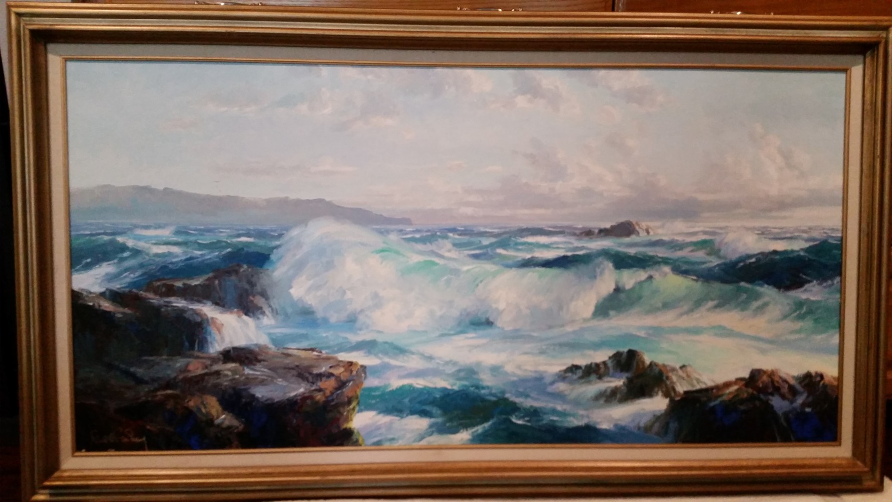 Afternoon Surf 1984 56x31