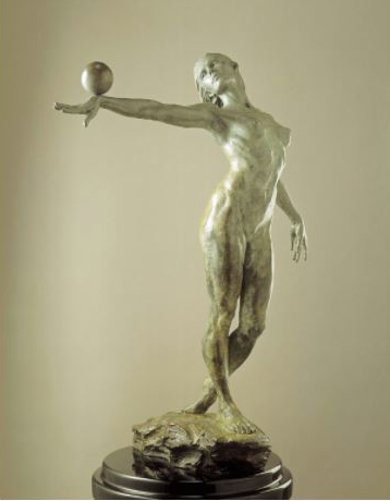 Balance 1/2 Life Bronze Sculpture