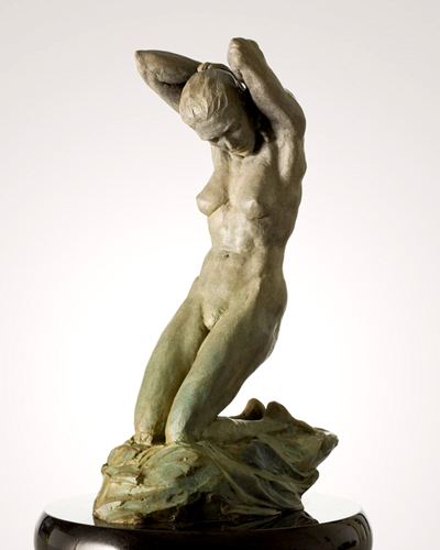 Spring Bronze Sculpture