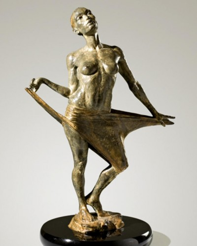 Clarity Bronze Sculpture 20 in